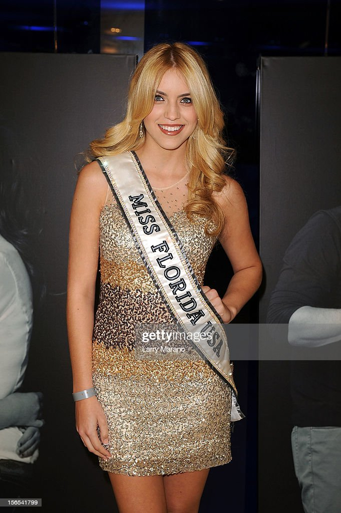 Michelle Aguirre, Miss Florida USA, attends the Zenith Watches Best Buddies Miami Gala at Marlins Park on November 16, 2012 in Miami, Florida.