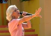 Michelle ARDShow 'Immer wieder Sonntags' 'EuropaPark' Rust BadenWürttemberg Deutschland Europa Bühne Auftritt Mikro singen Sängerin Promi HB FTP PNr...