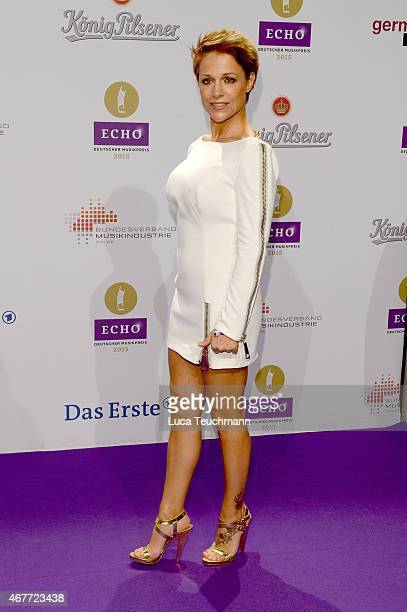 Michelle attends the Echo Award on March 26 2015 in Berlin Germany