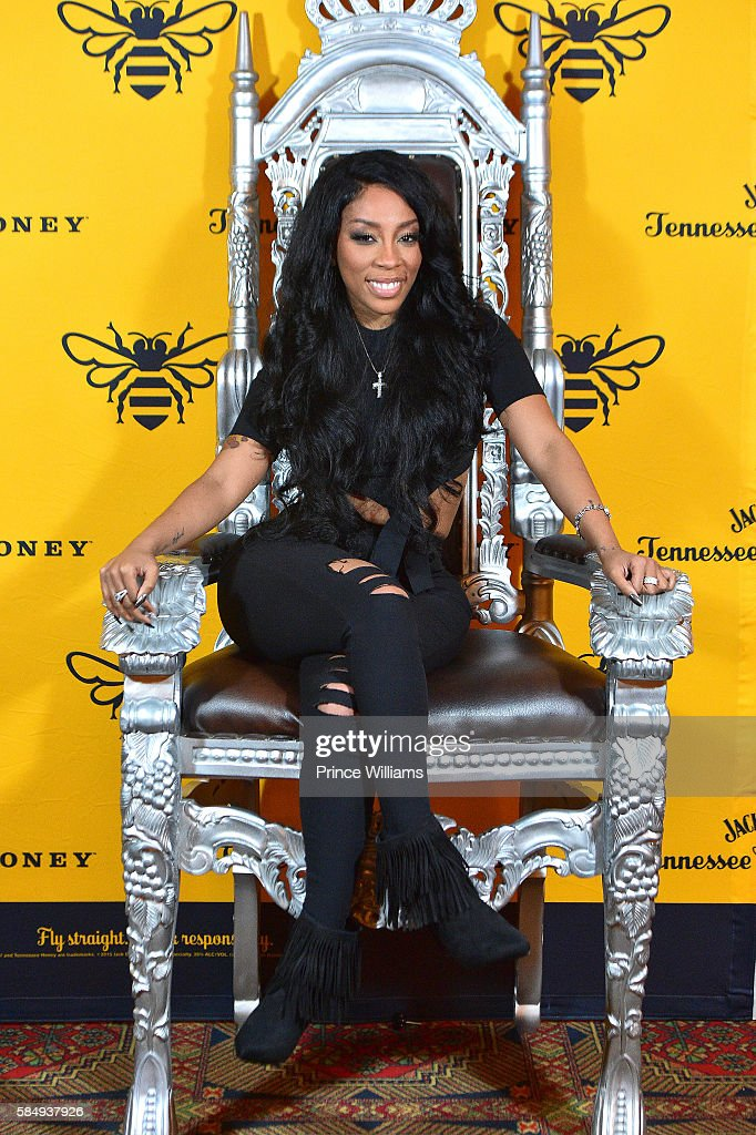K Michelle Backstage at her Meet and Greet at The Fox Theatre on July 31 2016 in Atlanta Georgia
