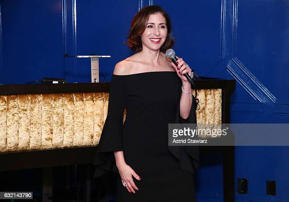 Michelle Barrineau Director of Marketing of Fillers for Merz North America attends #TBT Throw Back Thursday with Radiesse on January 19 2017 in New...