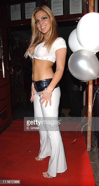 Michelle Bass during Michelle Bass' 25th Birthday Party at Club Eve in London at Club Eve in London Great Britain