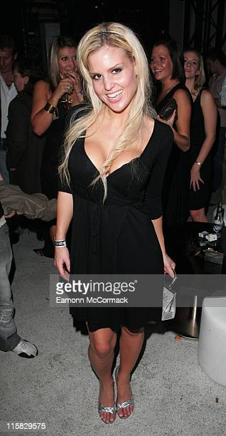 Michelle Bass during Sound Bar Restaurant Nightclub VIP Launch Party in London