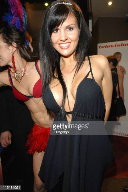 Michelle Bass during 'Television X' 10th Anniversary Party at Capisce in London Great Britain