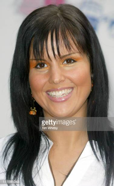 Michelle Bass during The 2005 T4 Honours Arrivals at Channel 4 Tv Studios in London Great Britain