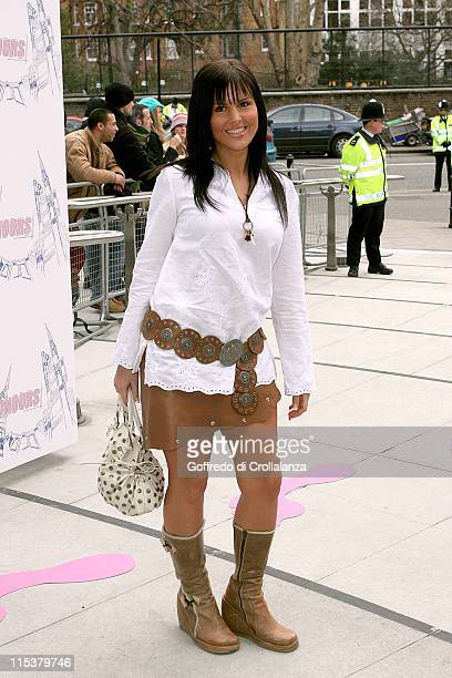 Michelle Bass during The 2005 T4 Honours Arrivals at Channel 4 Tv Studios in London United Kingdom
