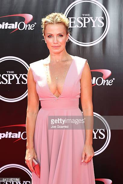 Michelle Beadle arrives at The 2016 ESPYS at Microsoft Theater on July 13 2016 in Los Angeles California