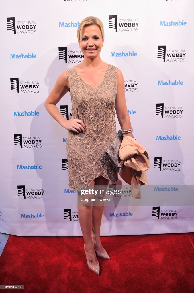 Michelle Beadle attends the 17th Annual Webby Awards at Cipriani Wall Street on May 21, 2013 in New York City.