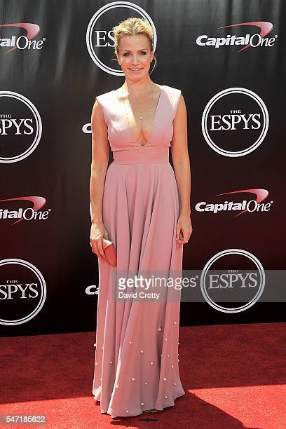 Michelle Beadle attends the 2016 ESPYS at Microsoft Theater on July 13 2016 in Los Angeles California