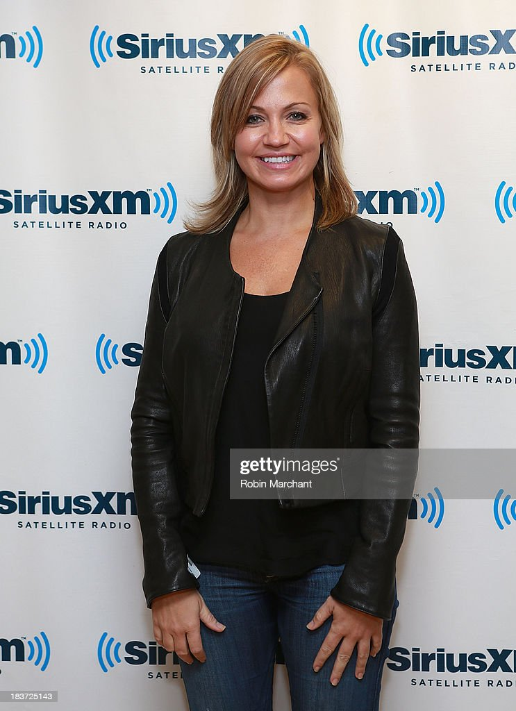 Michelle Beadle visits SiriusXM Studios on October 9, 2013 in New York City.