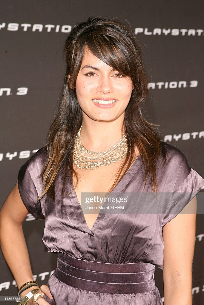 Michelle Belegrin during PLAYSTATION 3 Launch - Red Carpet at 9900 Wilshire Blvd. in Los Angeles, California, United States.