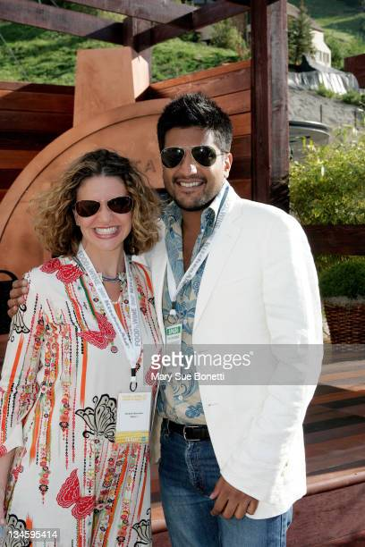 Michelle Bernstein Celebrity Chef for Delta Airlines and Maneesh Goyal New York based event planner