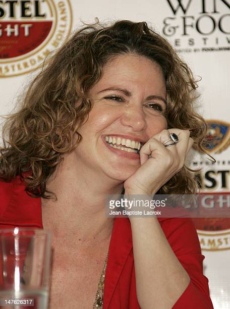 Michelle Bernstein during 2006 South Beach Wine Food Festival 'Chefs Gone Wild' Conference at Ocean Drive in Miami Beach United States
