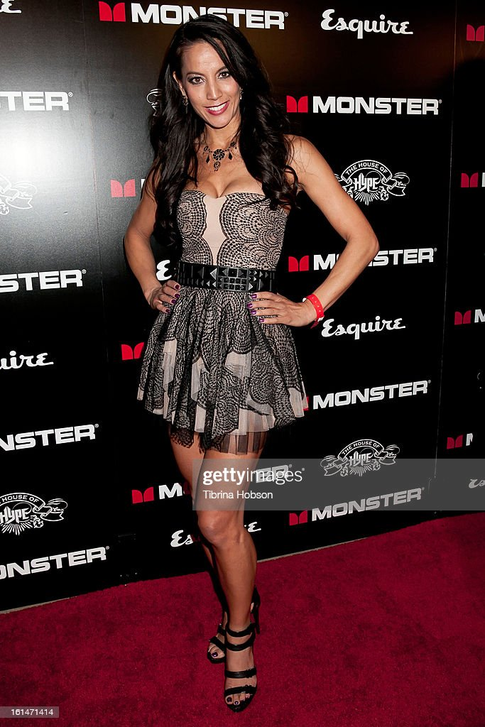 Michelle Blanchard attends the 'House of Hype' Monster Grammy party at SLS Hotel on February 10, 2013 in Los Angeles, California.