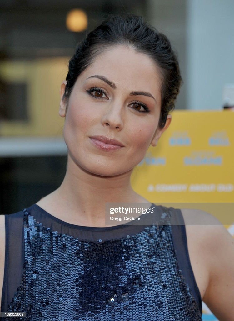 Michelle Borth arrives at the Los Angeles Premiere of 'A Good Old Fashioned Orgy' at the ArcLight Theater on August 25 2011 in Hollywood California