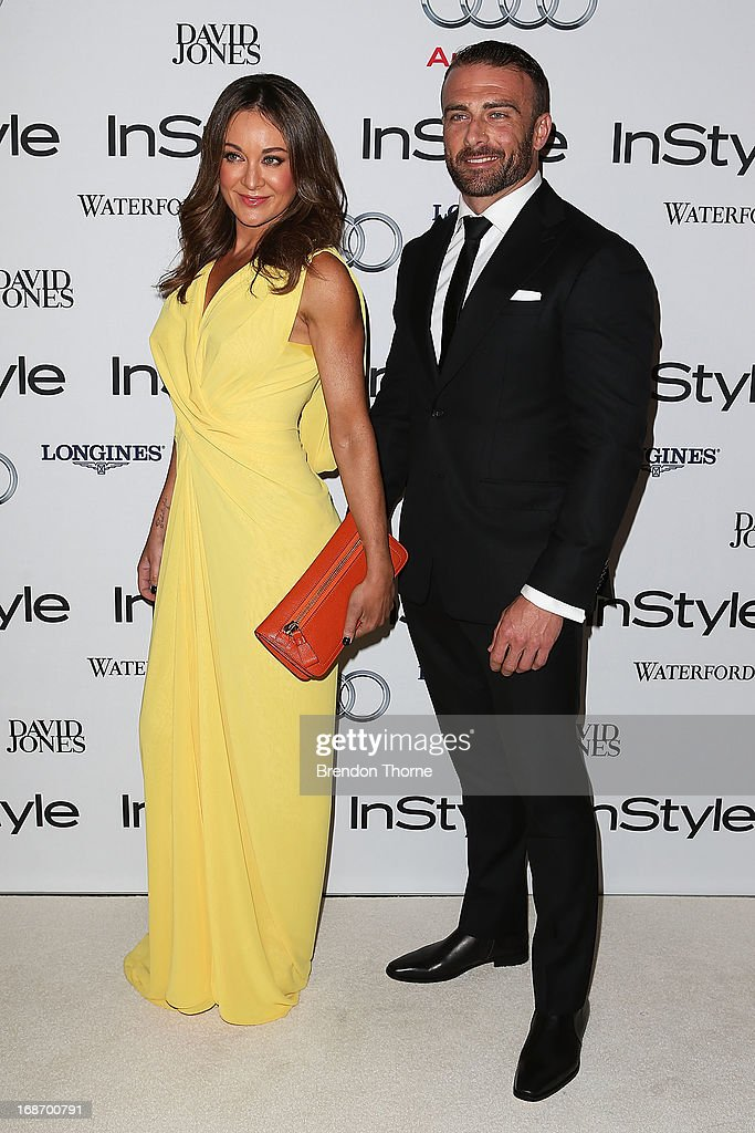 <a gi-track='captionPersonalityLinkClicked' href=/galleries/search?phrase=Michelle+Bridges&family=editorial&specificpeople=4213216 ng-click='$event.stopPropagation()'>Michelle Bridges</a> and Steve Willis arrive at the 2013 Instyle and Audi Women of Style Awards at Carriageworks on May 14, 2013 in Sydney, Australia.