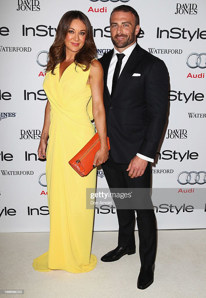 <a gi-track='captionPersonalityLinkClicked' href=/galleries/search?phrase=Michelle+Bridges&family=editorial&specificpeople=4213216 ng-click='$event.stopPropagation()'>Michelle Bridges</a> and Steve Willis arrive for the 2013 Instyle and Audi Women of Style Awards at Carriageworks on May 14, 2013 in Sydney, Australia.