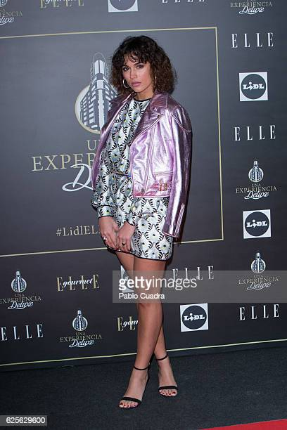 Michelle Calvo attends a benefit dinner promoted by Lidl and ELLE at Capitol Cinema on November 24 2016 in Madrid Spain