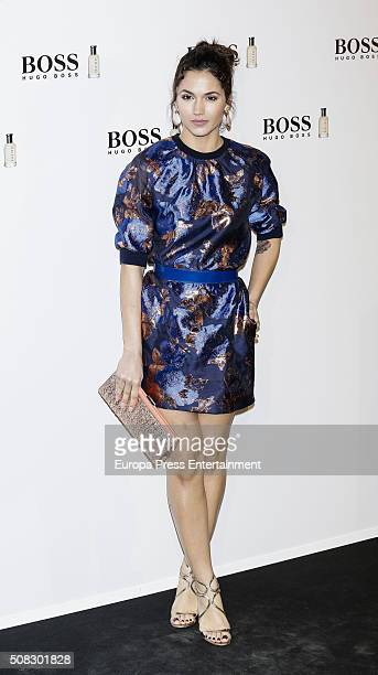 Michelle Calvo attends 'Man Of Today' campaign at Eurobuilding hotel on February 3 2016 in Madrid Spain