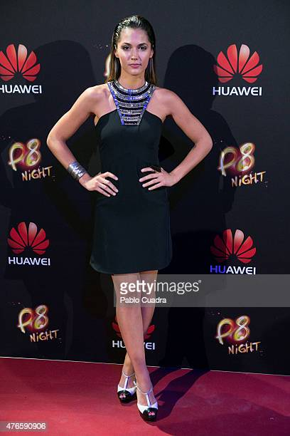 Michelle Calvo attends the Huawei P8 presentation party at Bodevil theatre on June 10 2015 in Madrid Spain