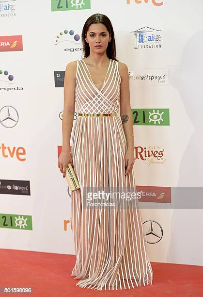 Michelle Calvo attends the Jose Maria Forque Awards at the Palacio de Congresos on January 11 2016 in Madrid Spain