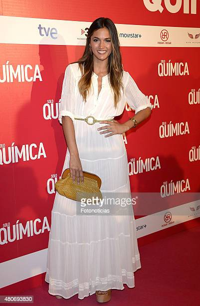 Michelle Calvo attends the 'Solo Quimica' Premiere at Palafox Cinema on July 14 2015 in Madrid Spain