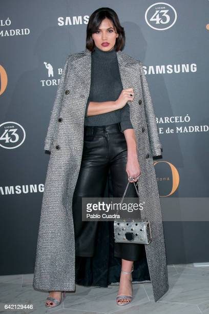 Michelle Calvo attends the 'Yo Dona' party that inaugurates MercedesBenz Fashion Week Madrid Autumn/ Winter 2017 at Barcelo Torre de Madrid Hotel on...