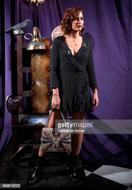 Michelle Calvo during 'La Familia Addams' Madrid Premiere on October 10 2017 in Madrid Spain