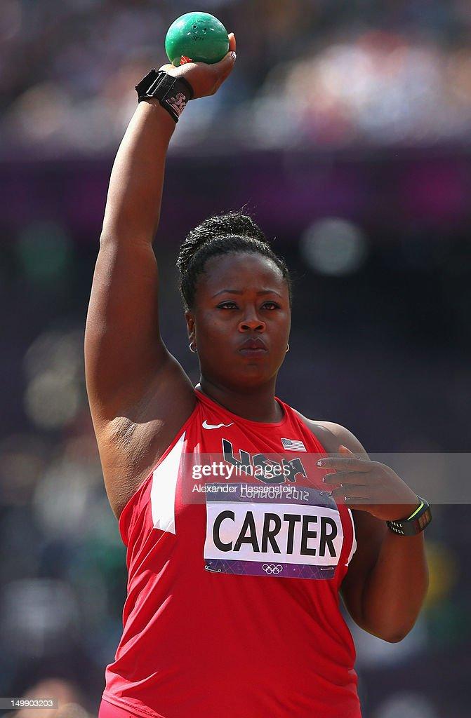 Michelle Carter olympics