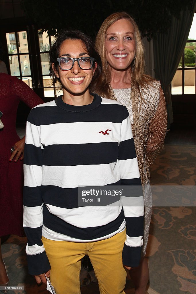 Michelle Chamuel of 'The Voice' and Atlanta Dream owner Mary Brock attend Usher's New Look's 2013 President's Circle Awards Luncheon at St. Regis Atlanta on July 17, 2013 in Atlanta, Georgia.