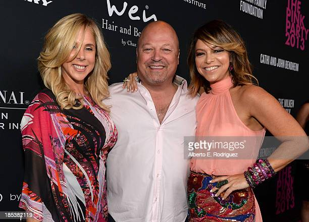 Michelle Chiklis actor Michael Chiklis and Pink Party founder Elyse Walker attend Elyse Walker Presents The Pink Party 2013 hosted by Anne Hathaway...