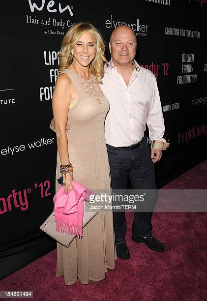 Michelle Chiklis and actor Michael Chiklis arrive at Elyse Walker presents the 8th annual Pink Party hosted by Michelle Pfeiffer to benefit...