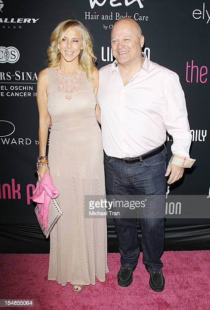Michelle Chiklis and Michael Chiklis arrive at the 8th Annual Pink Party held at Hangar 8 on October 27 2012 in Santa Monica California