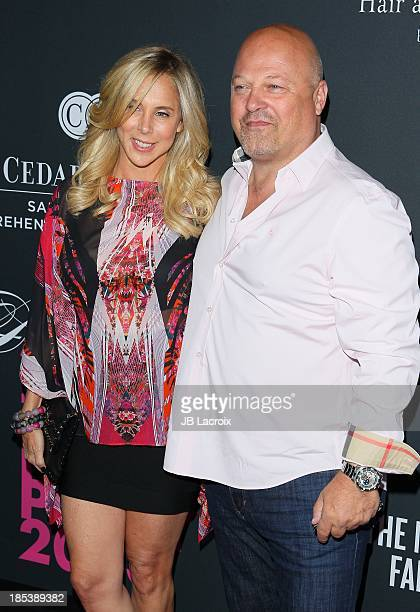 Michelle Chiklis and Michael Chiklis attend the Elyse Walker's Pink Party Benefiting The Women's Cancer Program At CedarsSinai's Samuel Oschin...