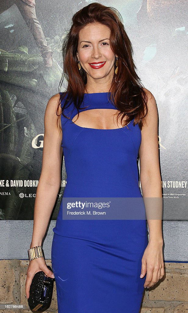 Michelle Clunie attends the Premiere Of New Line Cinema's 'Jack The Giant Slayer' at the TCL Chinese Theatre on February 26, 2013 in Hollywood, California.