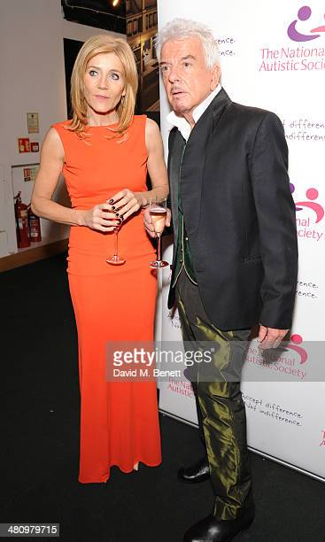 Michelle Collins and Nicky haslam attends Spectrum 2014 an annual fundraising event in support of the National Autistic Society to launch World...