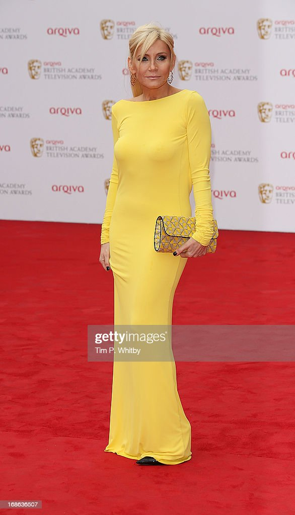 Michelle Collins attends the Arqiva British Academy Television Awards 2013 at the Royal Festival Hall on May 12, 2013 in London, England.