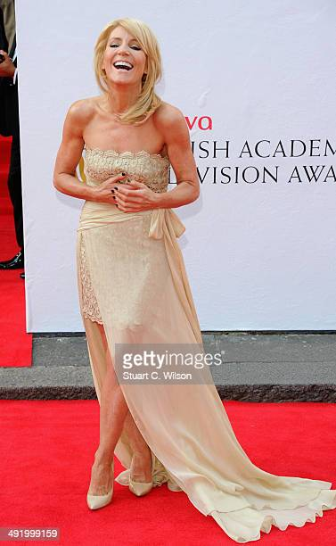 Michelle Collins attends the Arqiva British Academy Television Awards at Theatre Royal on May 18 2014 in London England