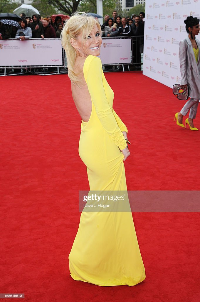 Michelle Collins attends the BAFTA TV Awards 2013 at The Royal Festival Hall on May 12, 2013 in London, England.