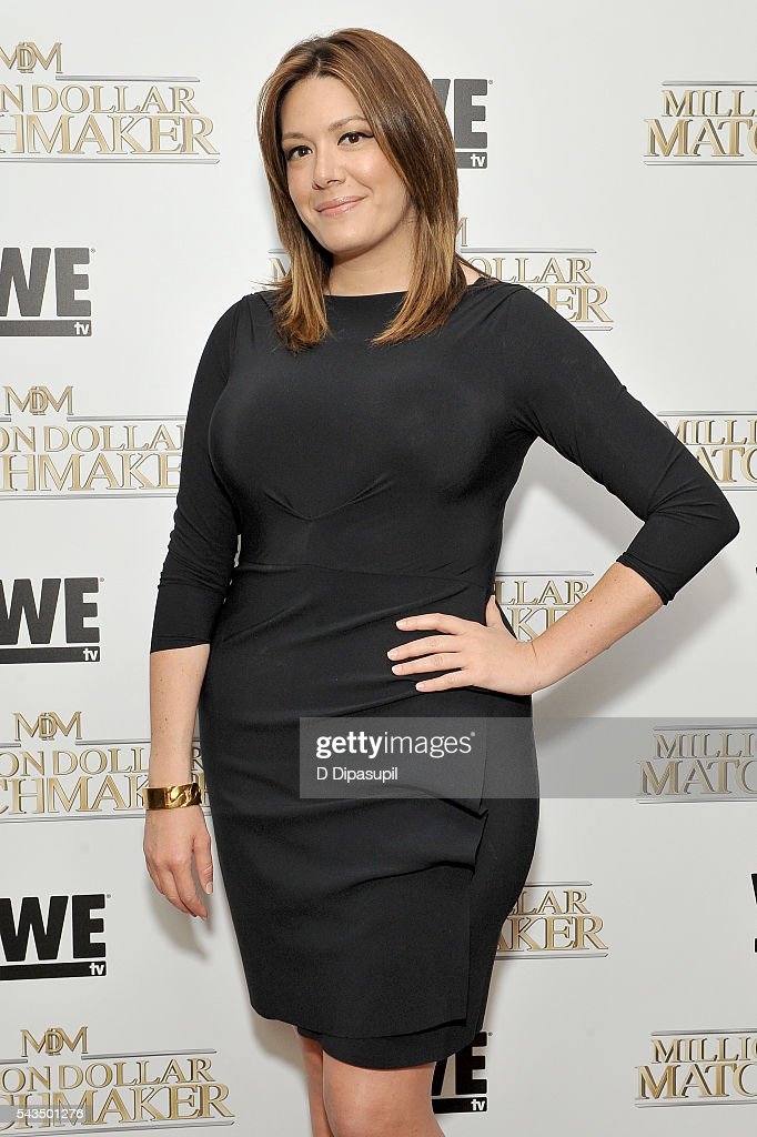 Michelle Collins attends the Million Dollar Matchmaker premiere at the Crosby Street Hotel on June 28, 2016 in New York City.