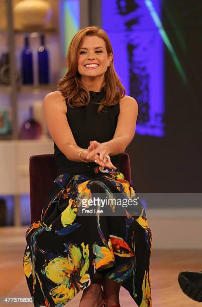 THE VIEW Michelle Collins is the guest cohost Guests include Carly Fiorina Aziz Ansari and Joanna Garcia are the guests today Tuesday June 16 2015 on...