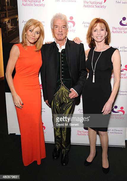 Michelle Collins Nicky Haslam and Jane Asher attend Spectrum 2014 an annual fundraising event in support of the National Autistic Society to launch...