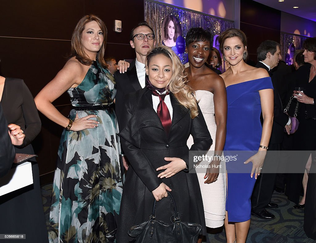 Michelle Collins, Todd Polkes, Paula Faris and Raven-Symon�� attend the Yahoo News/ABC News White House Correspondents' Dinner Pre-Party at Washington Hilton on April 30, 2016 in Washington, DC.