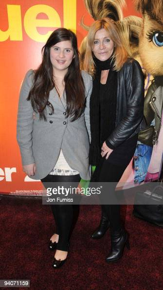 Michelle Collins with daughter Maia...