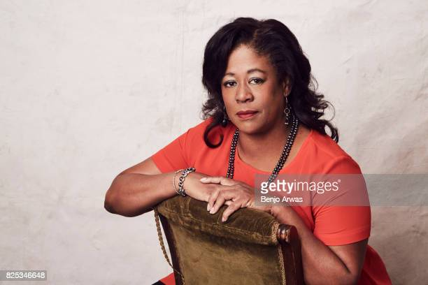 Michelle Coltrane of PBS's 'Chasing Trane' poses for a portrait during the 2017 Summer Television Critics Association Press Tour at The Beverly...