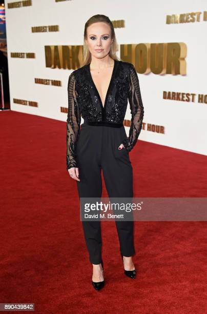 Michelle Dewberry attends the UK Premiere of 'Darkest Hour' at Odeon Leicester Square on December 11 2017 in London England