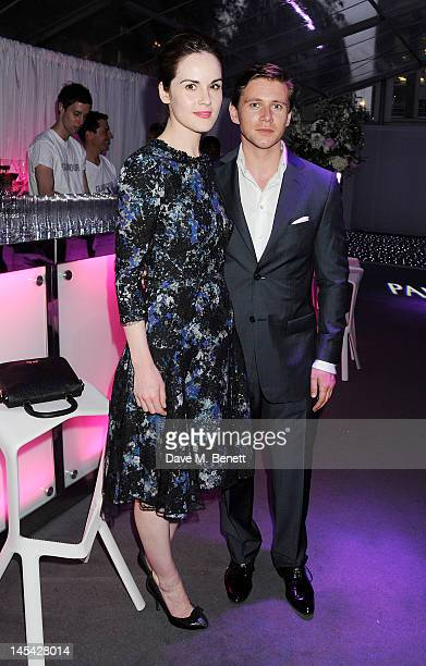 Michelle Dockery and Allen Leech arrive at the Glamour Women of the Year Awards in association with Pandora at Berkeley Square Gardens on May 29 2012...