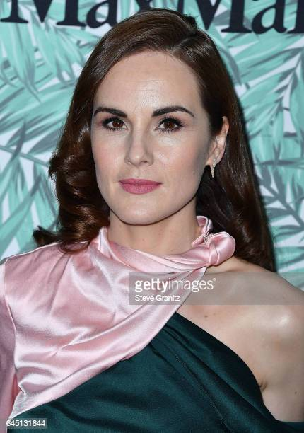 Michelle Dockery arrives at the 10th Annual Women In Film PreOscar Cocktail Party at Nightingale Plaza on February 24 2017 in Los Angeles California