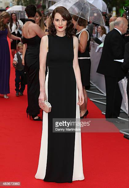 Michelle Dockery attends as BAFTA celebrate 'Downton Abbey' at Richmond Theatre on August 11 2015 in Richmond England