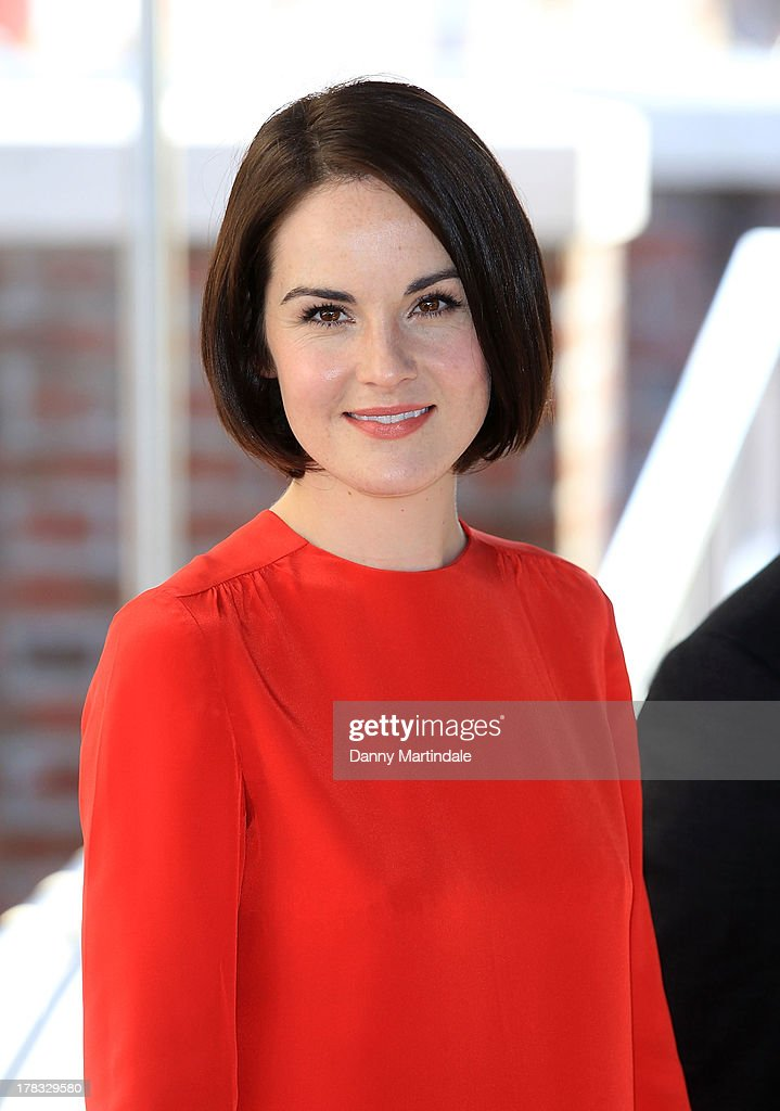 <a gi-track='captionPersonalityLinkClicked' href=/galleries/search?phrase=Michelle+Dockery&family=editorial&specificpeople=4047702 ng-click='$event.stopPropagation()'>Michelle Dockery</a> attends day 2 of the 70th Venice International Film Festival on August 29, 2013 in Venice, Italy.